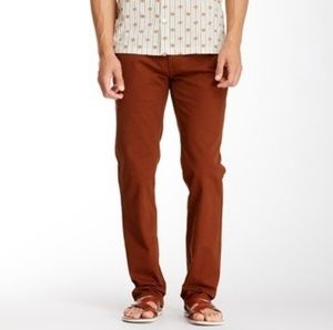 RVCA All Time Chino Pant in Tortoise Shell